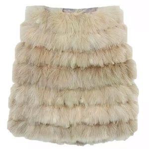 J Crew Maribou Feather Mini Skirt NEW